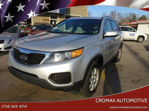 2013 Kia Sorento for sale at Cromax Automotive in Ann Arbor MI