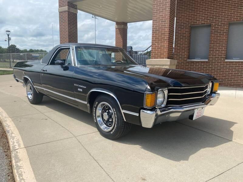 1972 Chevrolet El Camino for sale at Klemme Klassic Kars in Davenport IA