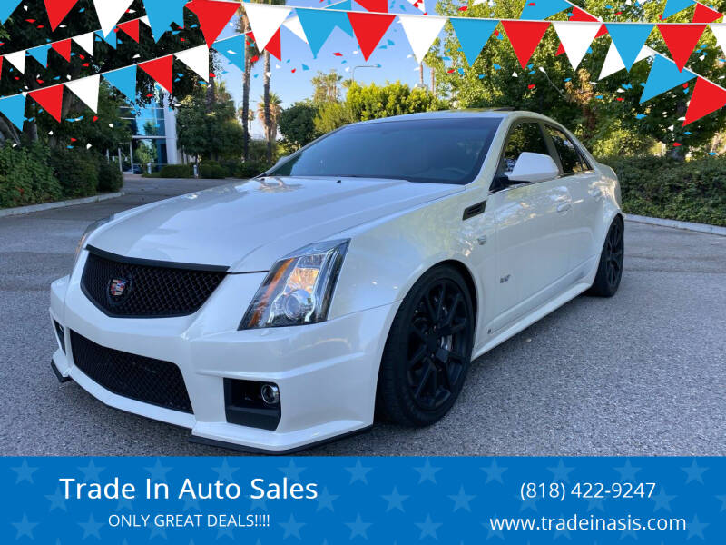 2009 Cadillac CTS-V for sale at Trade In Auto Sales in Van Nuys CA