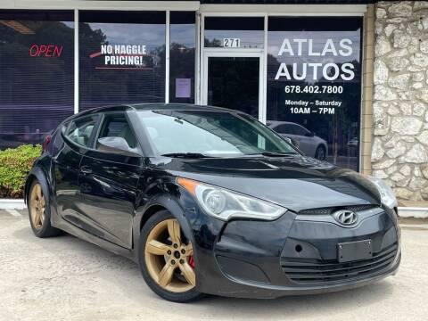 2014 Hyundai Veloster for sale at ATLAS AUTOS in Marietta GA