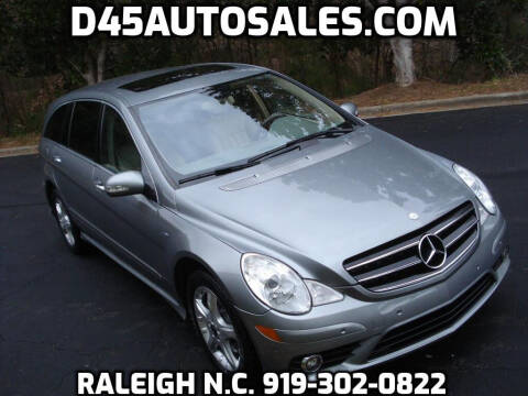2010 Mercedes-Benz R-Class for sale at D45 Auto Brokers in Raleigh NC