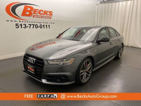 2017 Audi A6 for sale at Becks Auto Group in Mason OH
