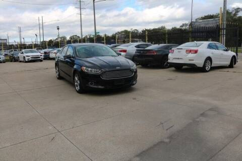 2013 Ford Fusion for sale at F & M AUTO SALES in Detroit MI