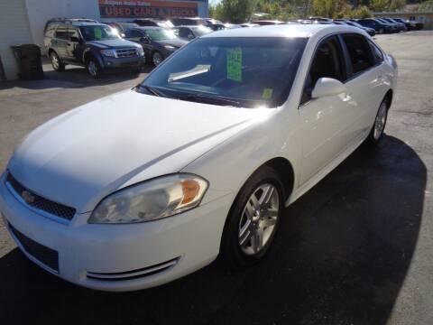 2013 Chevrolet Impala for sale at Aspen Auto Sales in Wayne MI