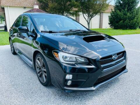 2017 Subaru WRX for sale at CROSSROADS AUTO SALES in West Chester PA
