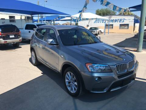 2012 BMW X3 for sale at Autos Montes in Socorro TX