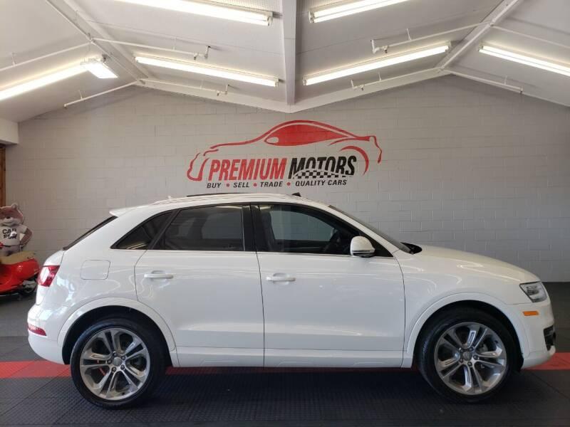 2015 Audi Q3 for sale at Premium Motors in Villa Park IL