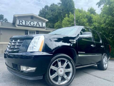 2009 Cadillac Escalade for sale at Regal Auto Sales in Marietta GA