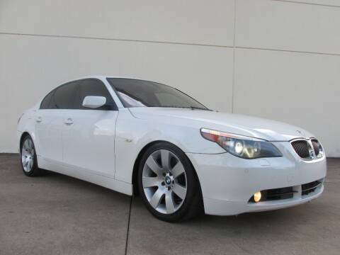 2007 BMW 5 Series for sale at QUALITY MOTORCARS in Richmond TX