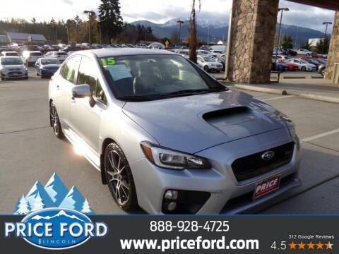 2015 Subaru WRX for sale at Price Ford Lincoln in Port Angeles WA