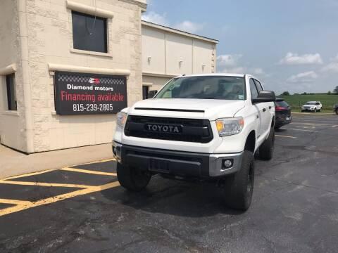 2016 Toyota Tundra for sale at Diamond Motors in Pecatonica IL