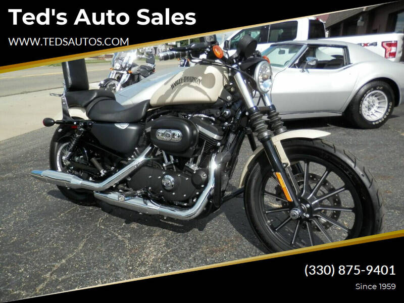 2015 HARLEY DAVIDSON XL883N for sale at Ted's Auto Sales in Louisville OH