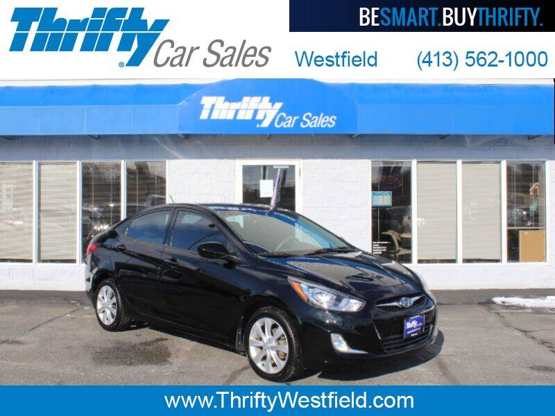 2012 Hyundai Accent for sale at Thrifty Car Sales Westfield in Westfield MA