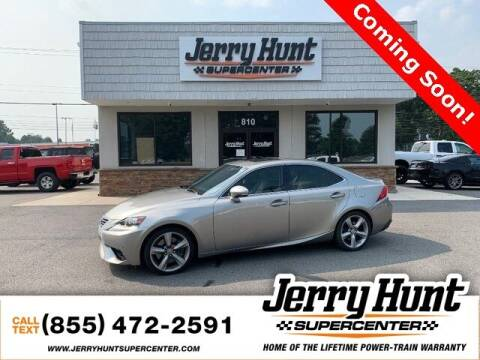 2015 Lexus IS 350 for sale at Jerry Hunt Supercenter in Lexington NC