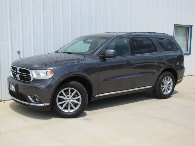 2017 Dodge Durango for sale at Lyman Auto in Griswold IA