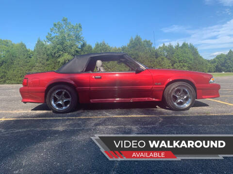 1987 Ford Mustang for sale at Seminole Auto Sales in Seminole OK