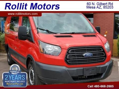 2017 Ford Transit Cargo for sale at Rollit Motors in Mesa AZ