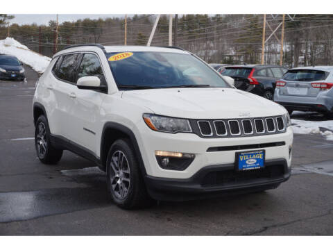 2018 Jeep Compass for sale at VILLAGE MOTORS in South Berwick ME