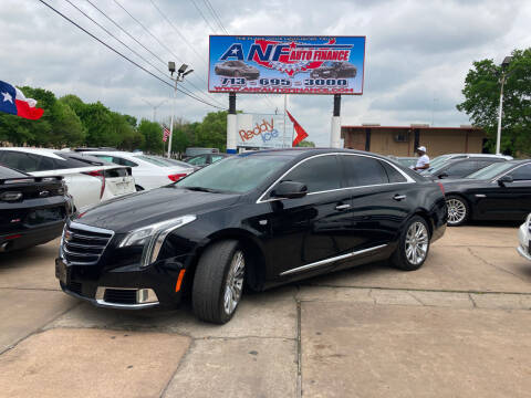 2018 Cadillac XTS for sale at ANF AUTO FINANCE in Houston TX