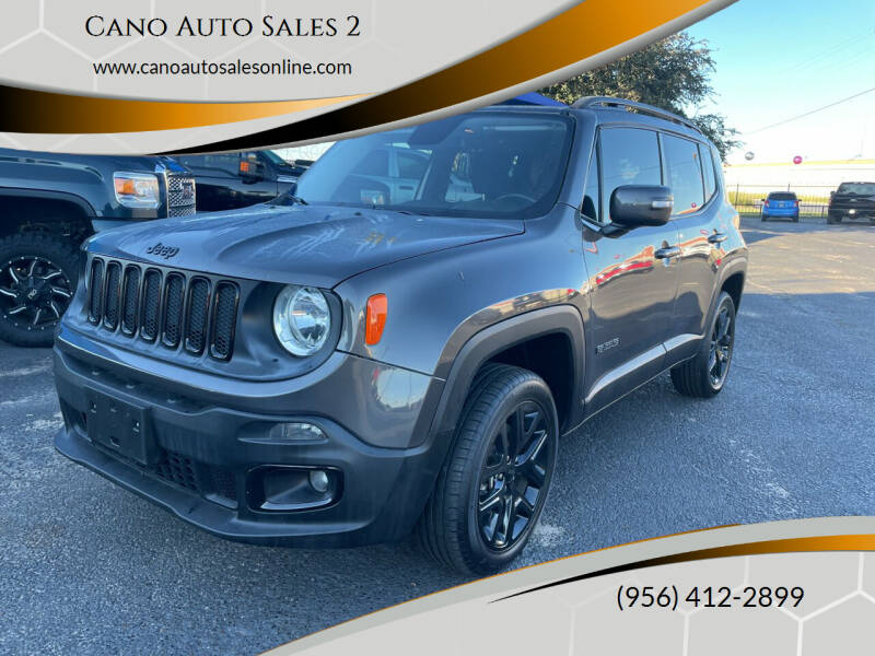 2016 Jeep Renegade for sale at Cano Auto Sales 2 in Harlingen TX