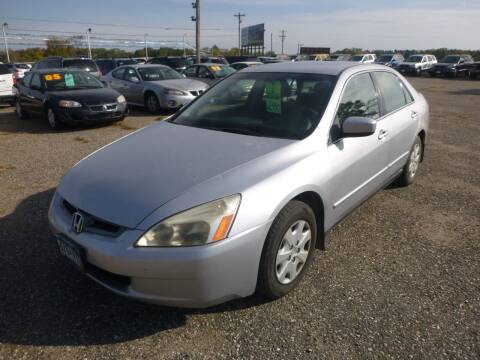 2003 Honda Accord for sale at Country Side Car Sales in Elk River MN
