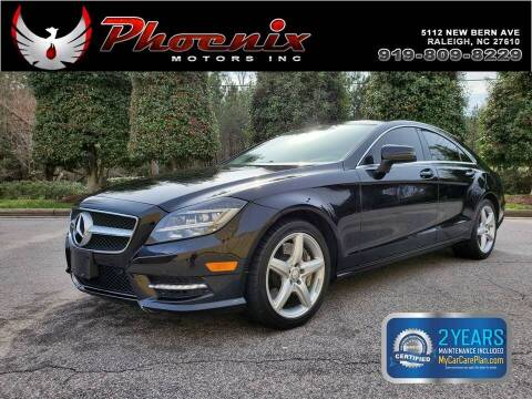 2013 Mercedes-Benz CLS for sale at Phoenix Motors Inc in Raleigh NC