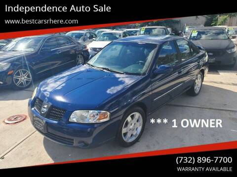 2006 Nissan Sentra for sale at Independence Auto Sale in Bordentown NJ