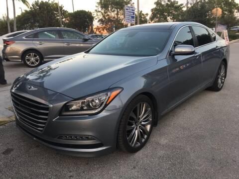2015 Hyundai Genesis for sale at DORAL HYUNDAI in Doral FL