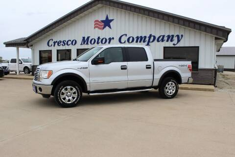 2012 Ford F-150 for sale at Cresco Motor Company in Cresco IA