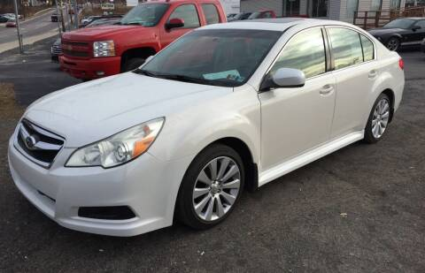 2010 Subaru Legacy for sale at Rinaldi Auto Sales Inc in Taylor PA