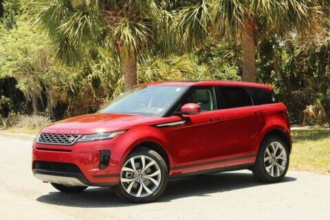 2020 Land Rover Range Rover Evoque for sale at Bluebird Auto in South Glens Falls NY