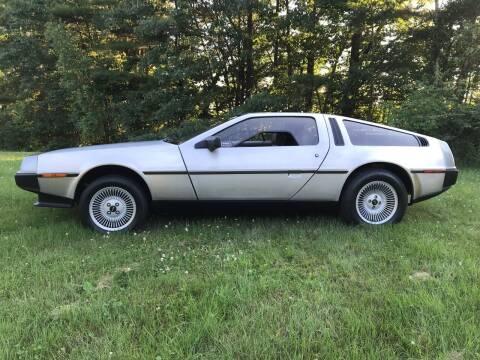 1982 DeLorean DMC-12 for sale at Cella  Motors LLC in Auburn NH