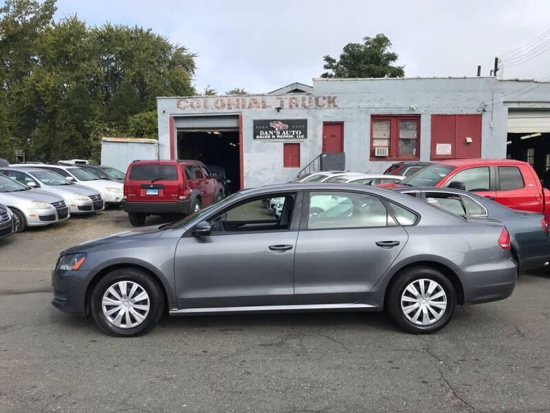2012 Volkswagen Passat for sale at Dan's Auto Sales and Repair LLC in East Hartford CT
