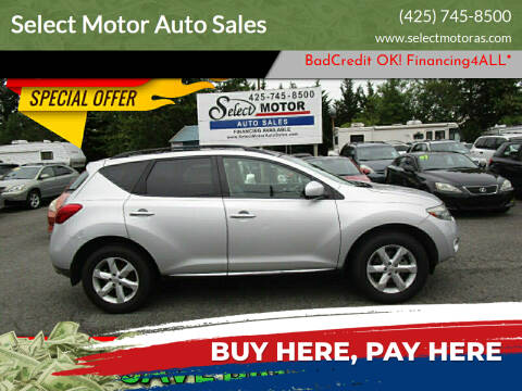 2009 Nissan Murano for sale at Select Motor Auto Sales in Lynnwood WA
