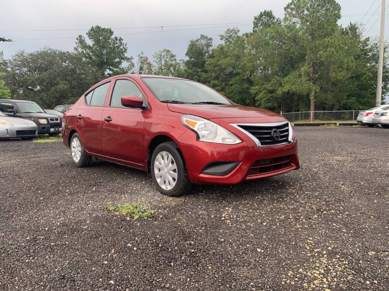 2017 Nissan Versa for sale at Popular Imports Auto Sales in Gainesville FL