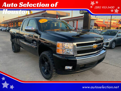 2013 Chevrolet Silverado 1500 for sale at Auto Selection of Houston in Houston TX