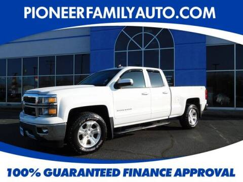 2015 Chevrolet Silverado 1500 for sale at Pioneer Family auto in Marietta OH