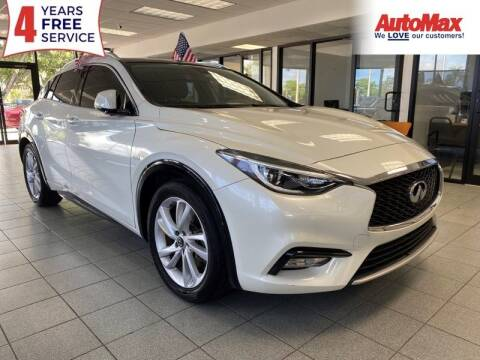2017 Infiniti QX30 for sale at Auto Max in Hollywood FL