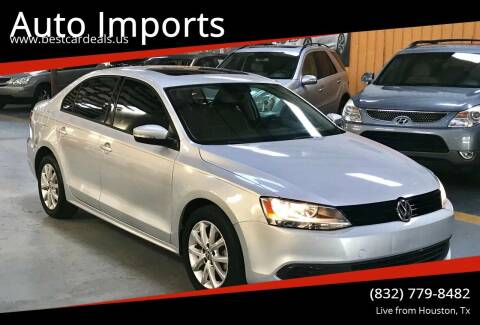 2012 Volkswagen Jetta for sale at Auto Imports in Houston TX
