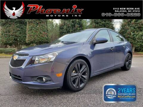 2013 Chevrolet Cruze for sale at Phoenix Motors Inc in Raleigh NC