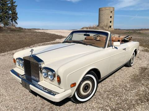 1989 Rolls-Royce Corniche for sale at Park Ward Motors Museum - Park Ward Motors in Crystal Lake IL