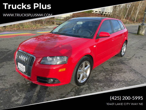 2007 Audi A3 for sale at Trucks Plus in Seattle WA