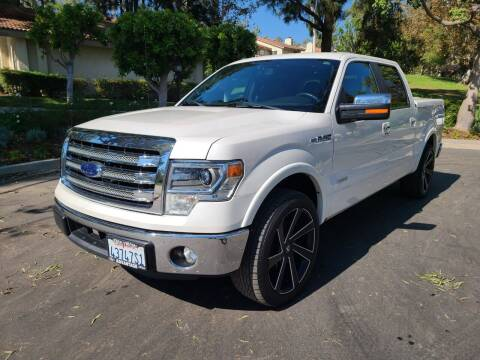 2014 Ford F-150 for sale at E MOTORCARS in Fullerton CA