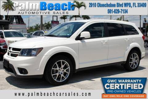 2018 Dodge Journey for sale at Palm Beach Automotive Sales in West Palm Beach FL