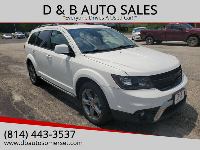 2017 Dodge Journey for sale at D & B AUTO SALES in Somerset PA