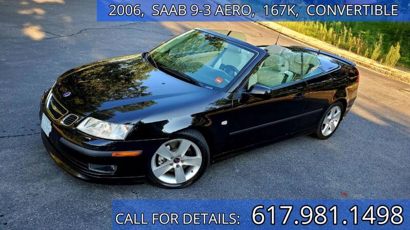 2006 Saab 9-3 for sale at Wheeler Dealer Inc. in Acton MA