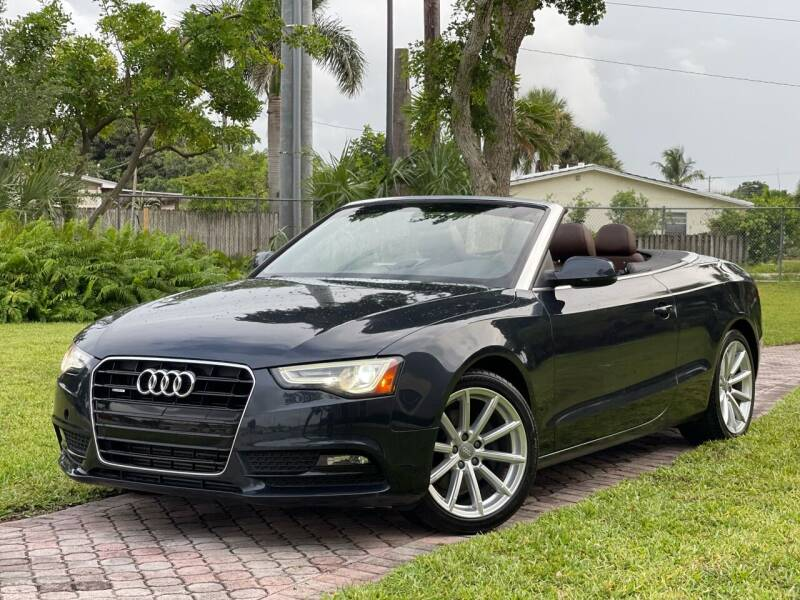 2015 Audi A5 for sale at Citywide Auto Group LLC in Pompano Beach FL