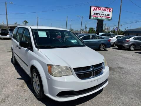 2014 Dodge Grand Caravan for sale at Jamrock Auto Sales of Panama City in Panama City FL