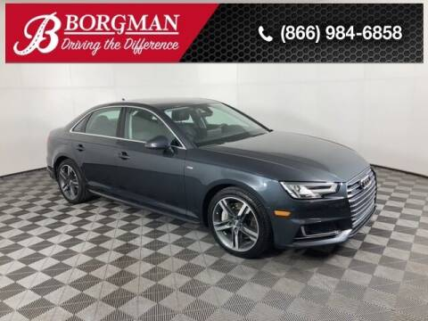 2017 Audi A4 for sale at BORGMAN OF HOLLAND LLC in Holland MI