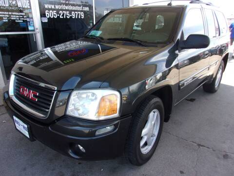 2004 GMC Envoy for sale at World Wide Automotive in Sioux Falls SD
